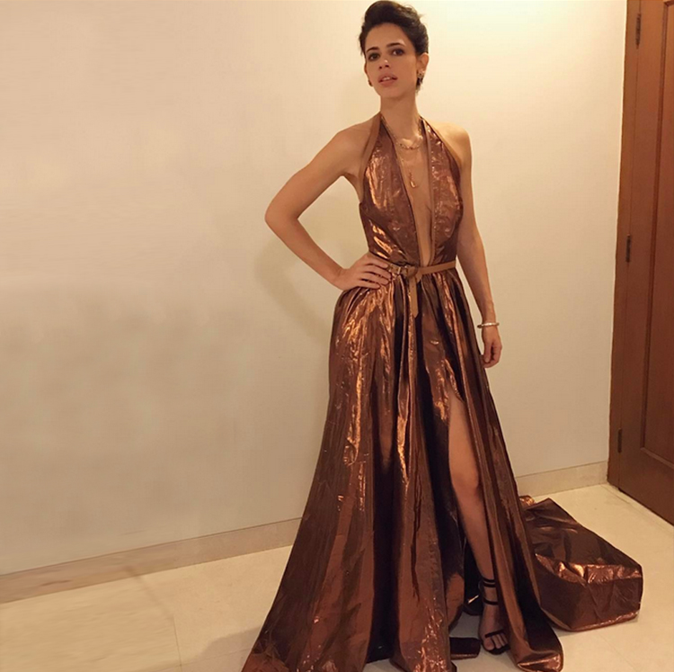 Kalki goes all metallic