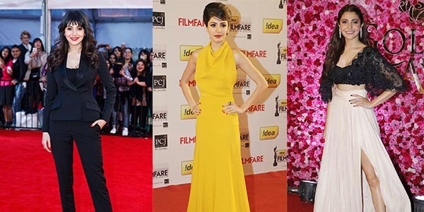 Anushka Sharma's Most Adored Red Carpet Looks