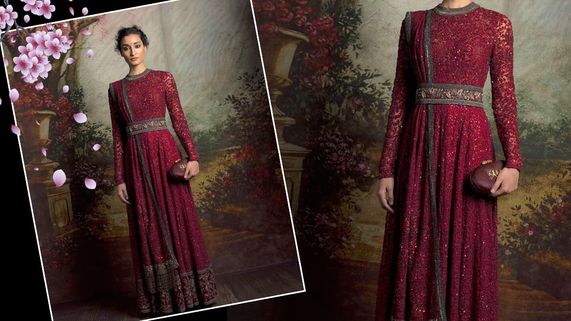 Ethnic Gowns For Wedding