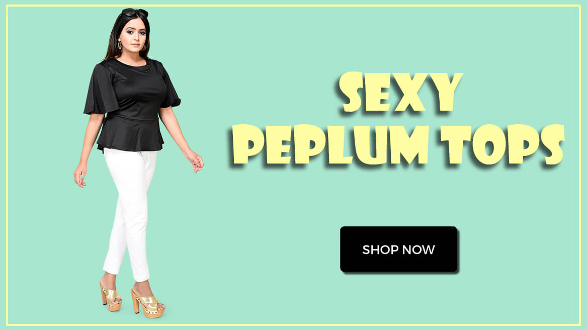 Cheap Peplum Tops Online India