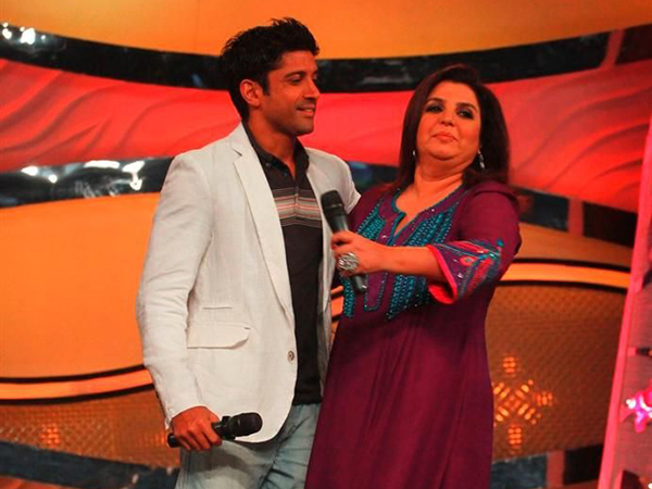 Farah Khan And Farhan Akhtar