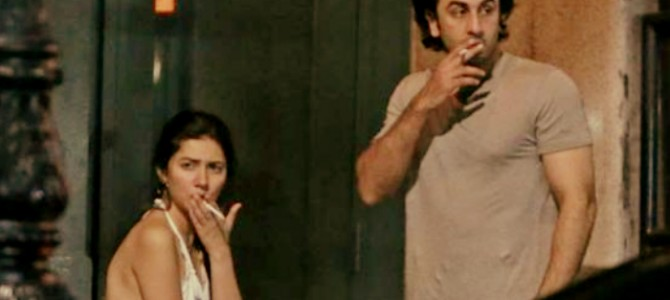 Ranbir And Mahira Were Spotted Smoking In Front Of A Hotel In New York! Are Those Rumors True About Them?