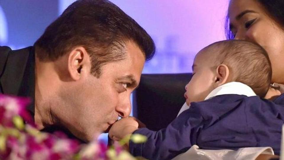 Salman Khan Nephew Ahil