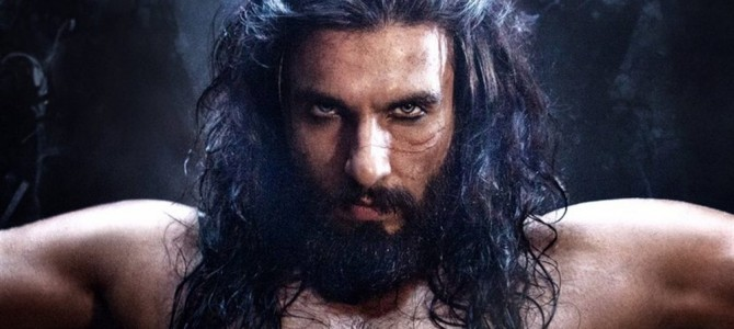 Last Night, Sultan Allauddin Khilji has Invaded Twitter as Ranveer with his Killing Look.