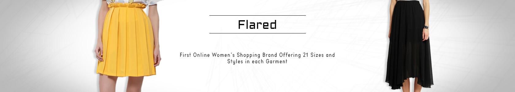 Flared