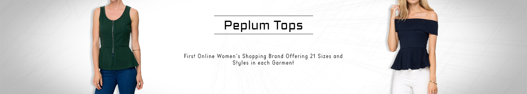 Peplum Tops