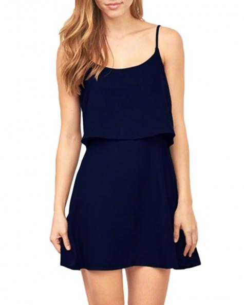 A line tier dress