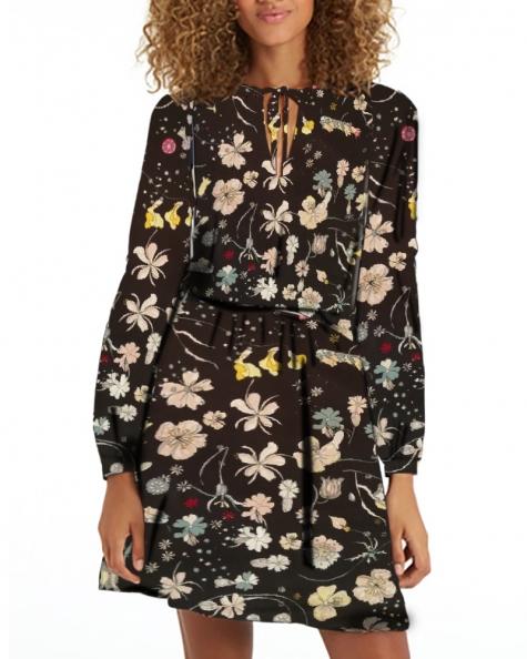 Bold Kimona Dress