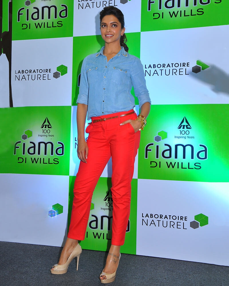 Deepika Padukone Soft Wash Shirt