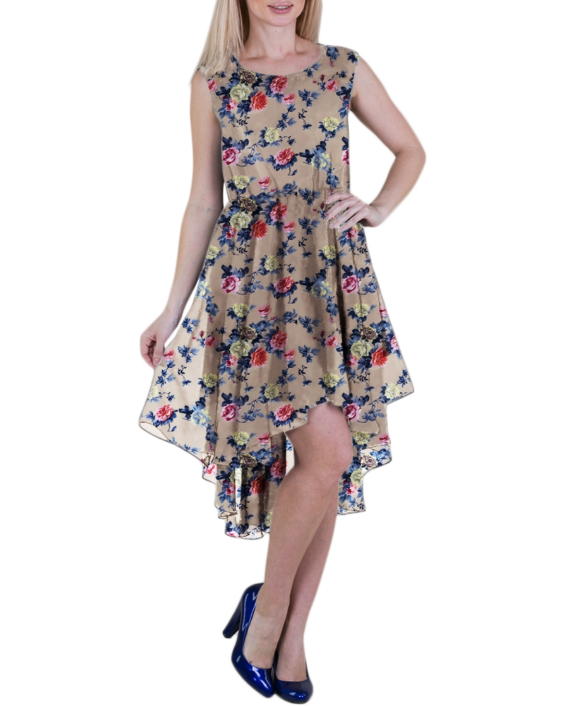 Summer Georgette Cocktail Dress
