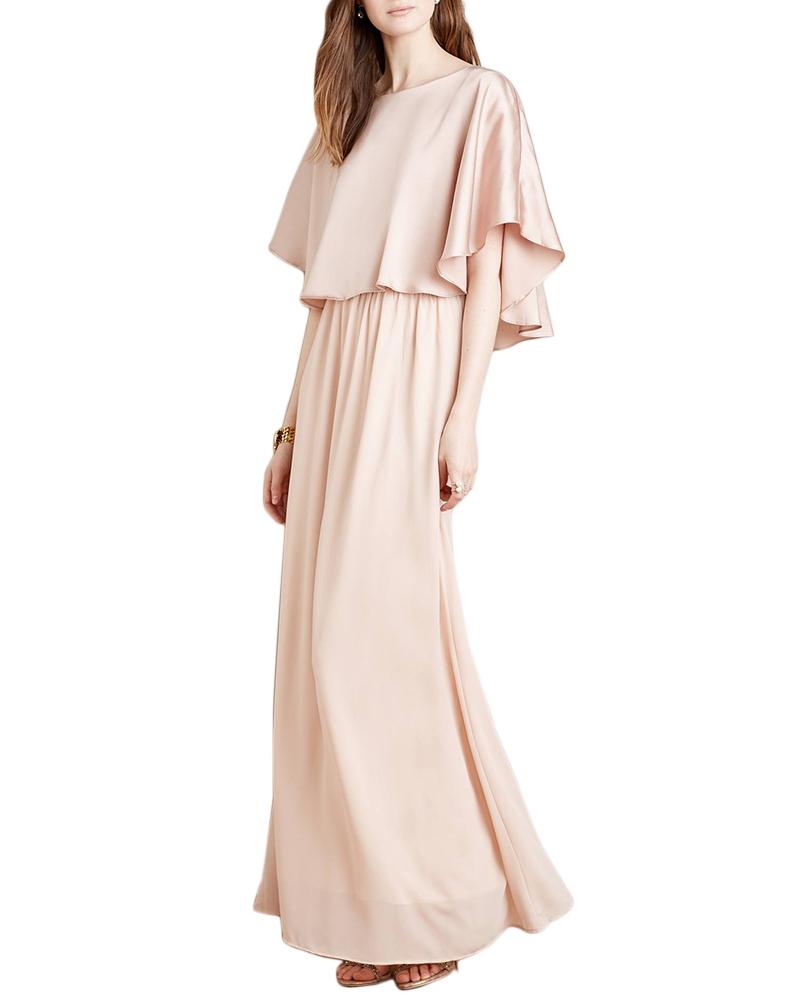 Swing bodice maxi dress
