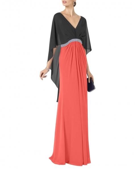 Alyona poncho styled dress