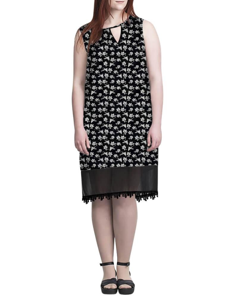 Melissa shift dress