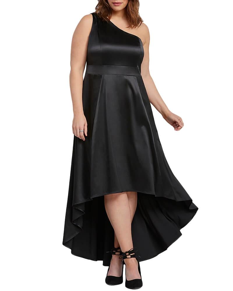 Silky Satin High low dress