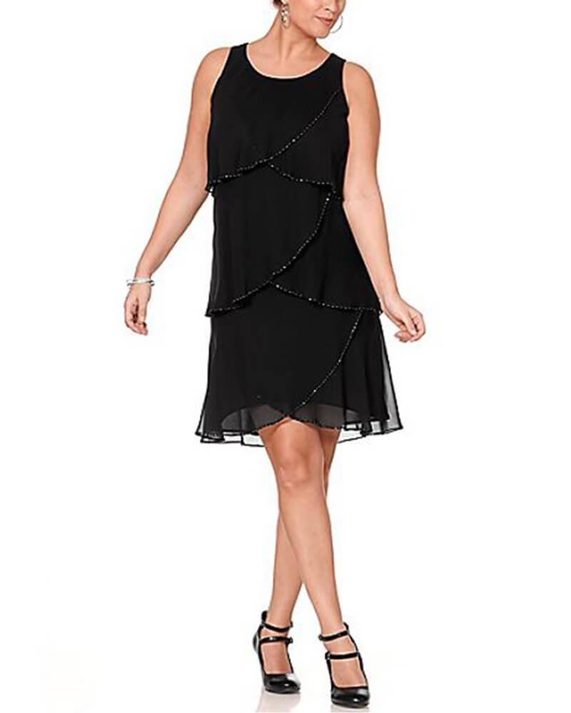 Carine Tiered Dress