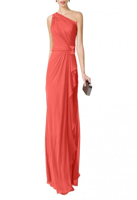 Anastasiya draped dress