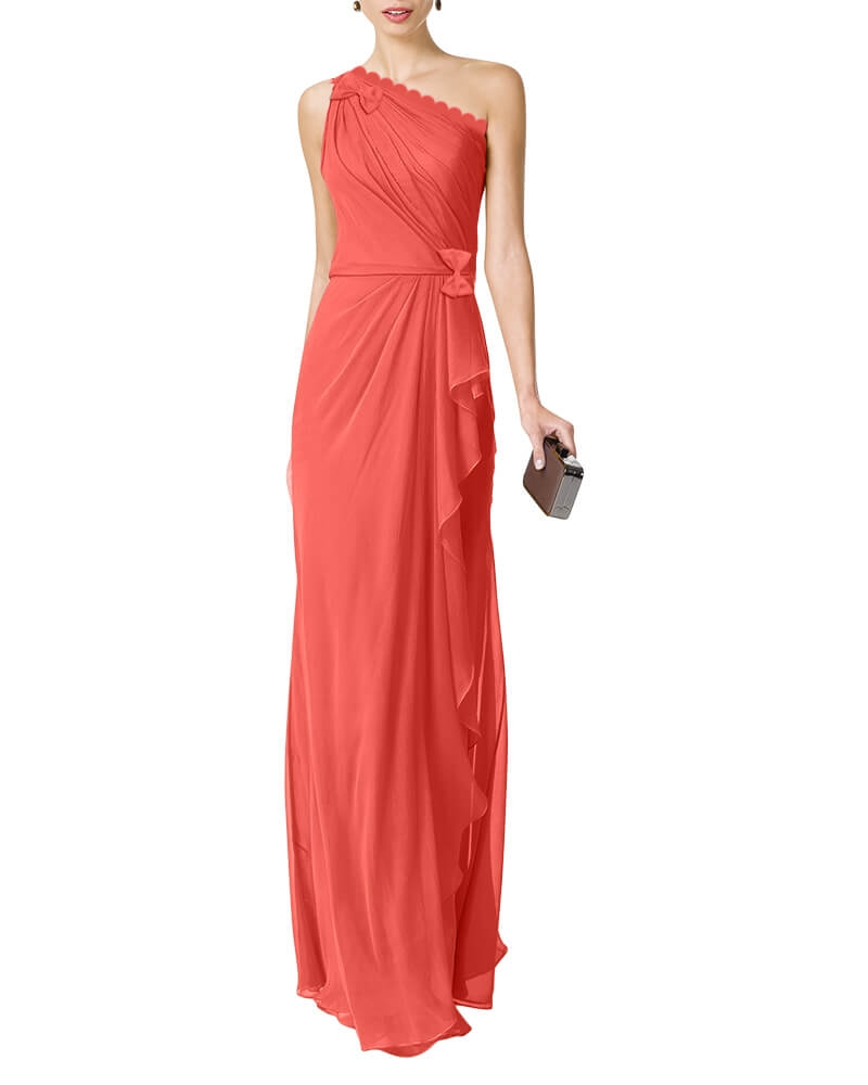Anastasiya draped dress