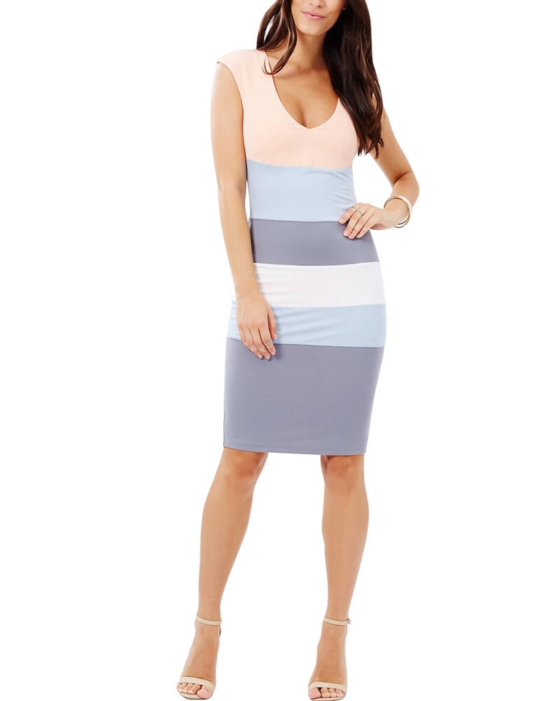 Brice Striped Dress