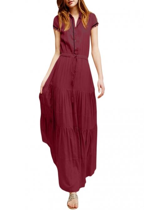 Carolina light weight maxi dress