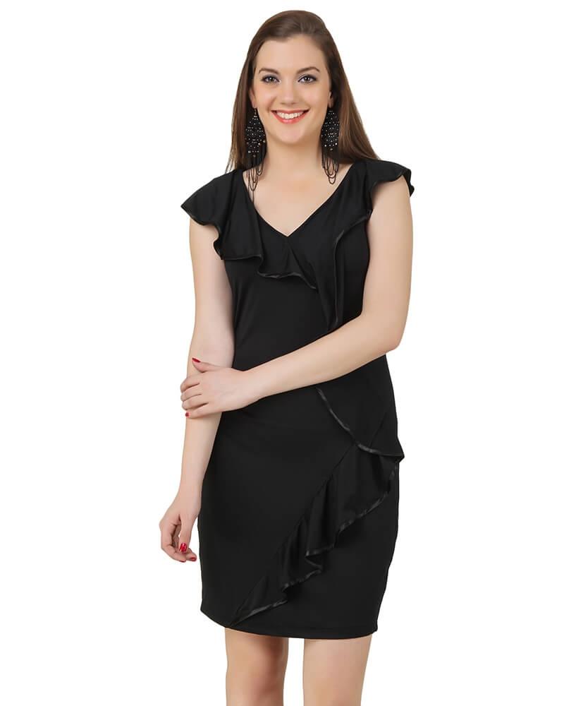 Holly Black Dress