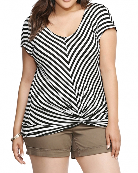 Chevron Lines Top