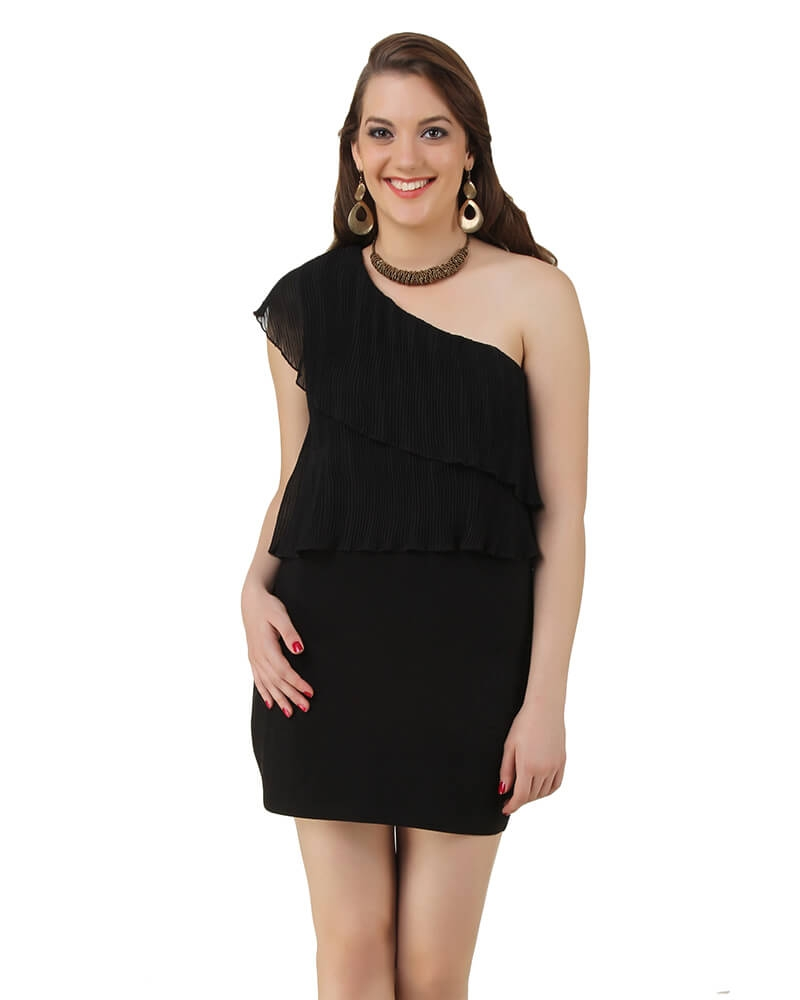 Madaline Black Dress