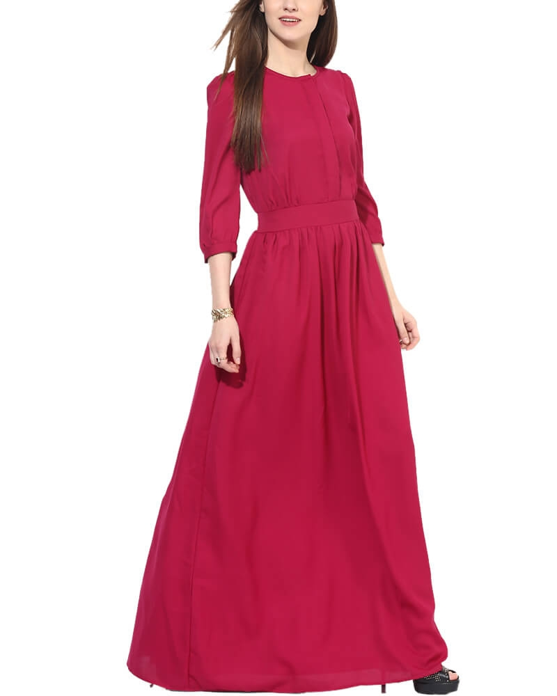 Autumn Love Maxi Dress