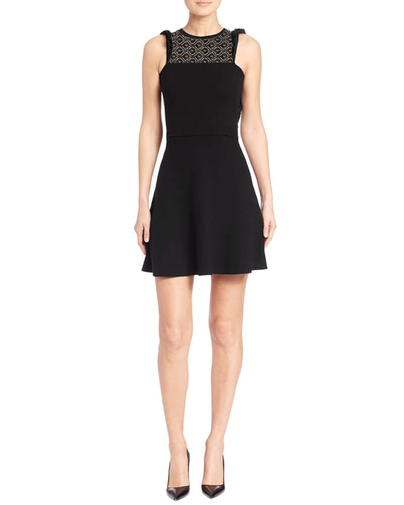 Ladylike ruffles dress
