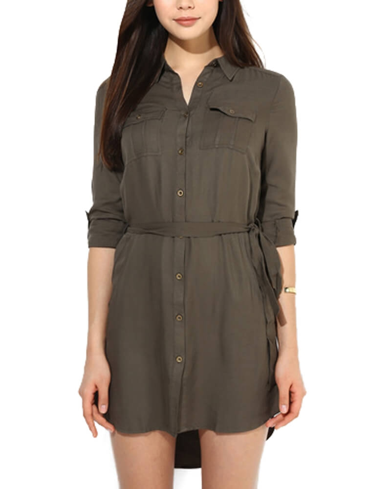 Misha Shirt Dress