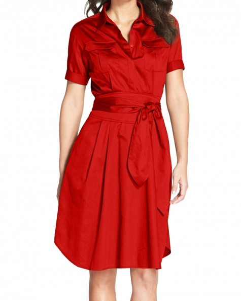Pamera Scotch Shirtdress