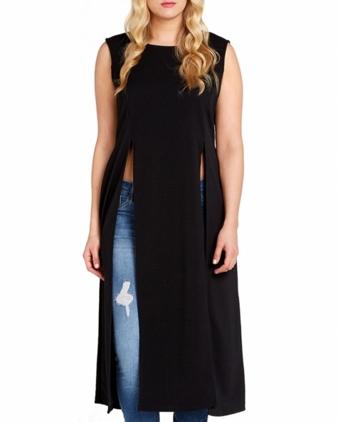 Bold Black Dress