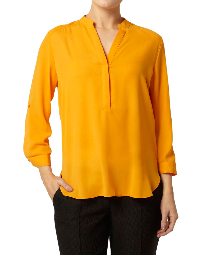 Akila- Regular Shirt- Mustard