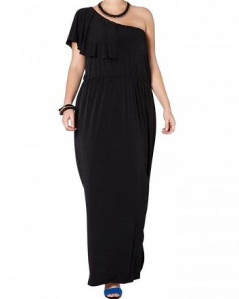 Single Shoulder Custom Dress