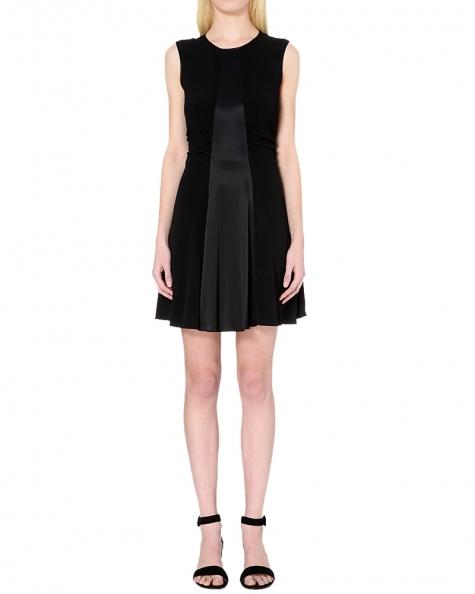 Satin Shine Little  Dress- Black