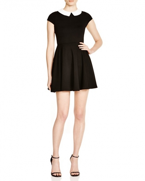 On The Board Collared Dress