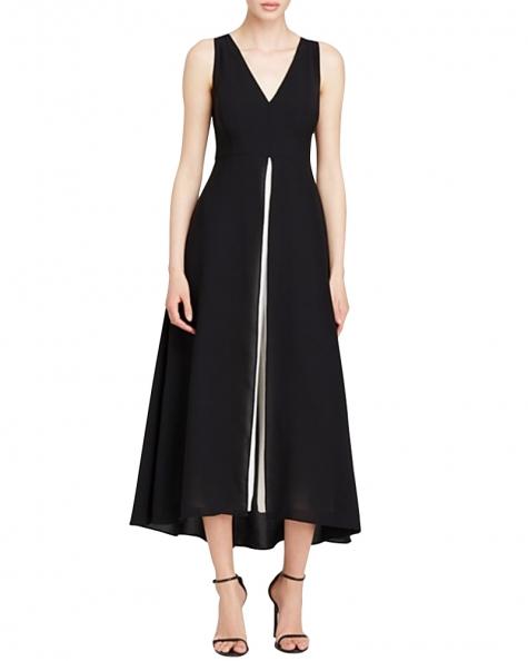 Black Me Out Midi Dress