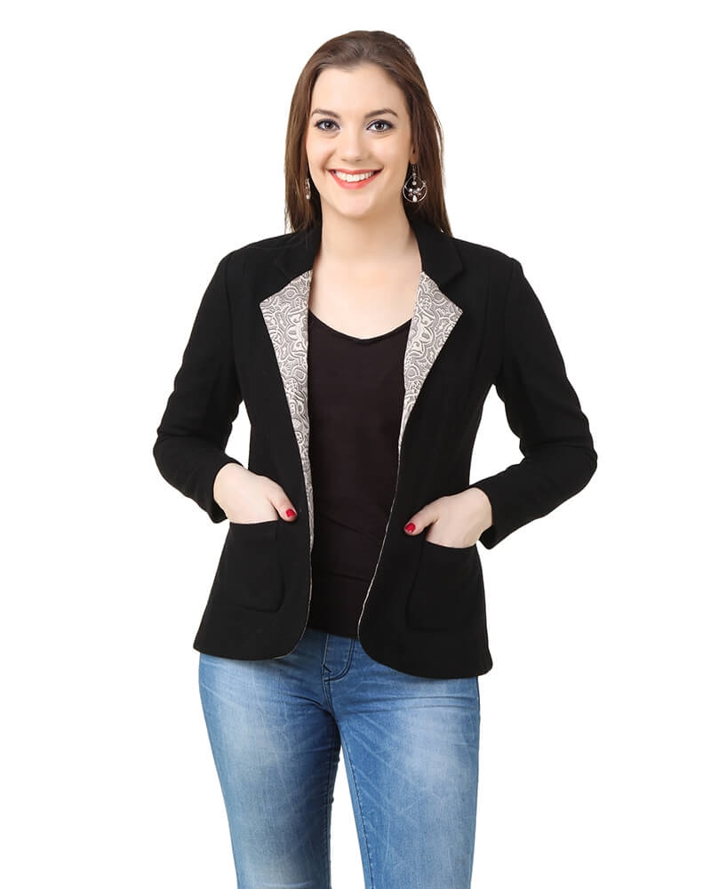 Grace Black Blazer