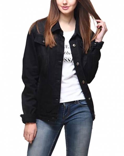 Black Gladys Jacket