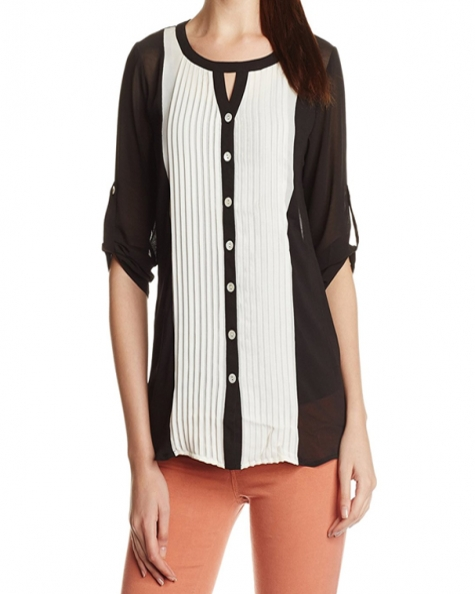 Color Block Tex Shirt