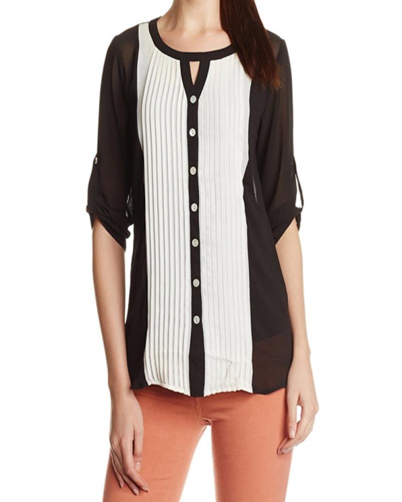 Color Block Tex Shirt