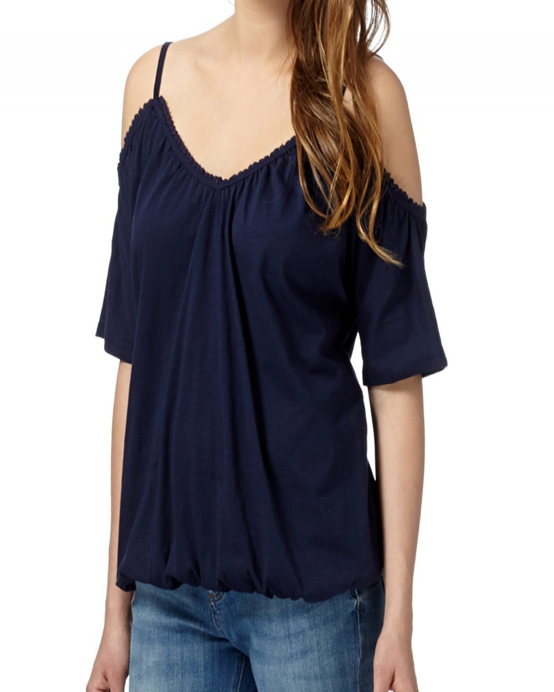 Dahlia Cold Shoulder Top