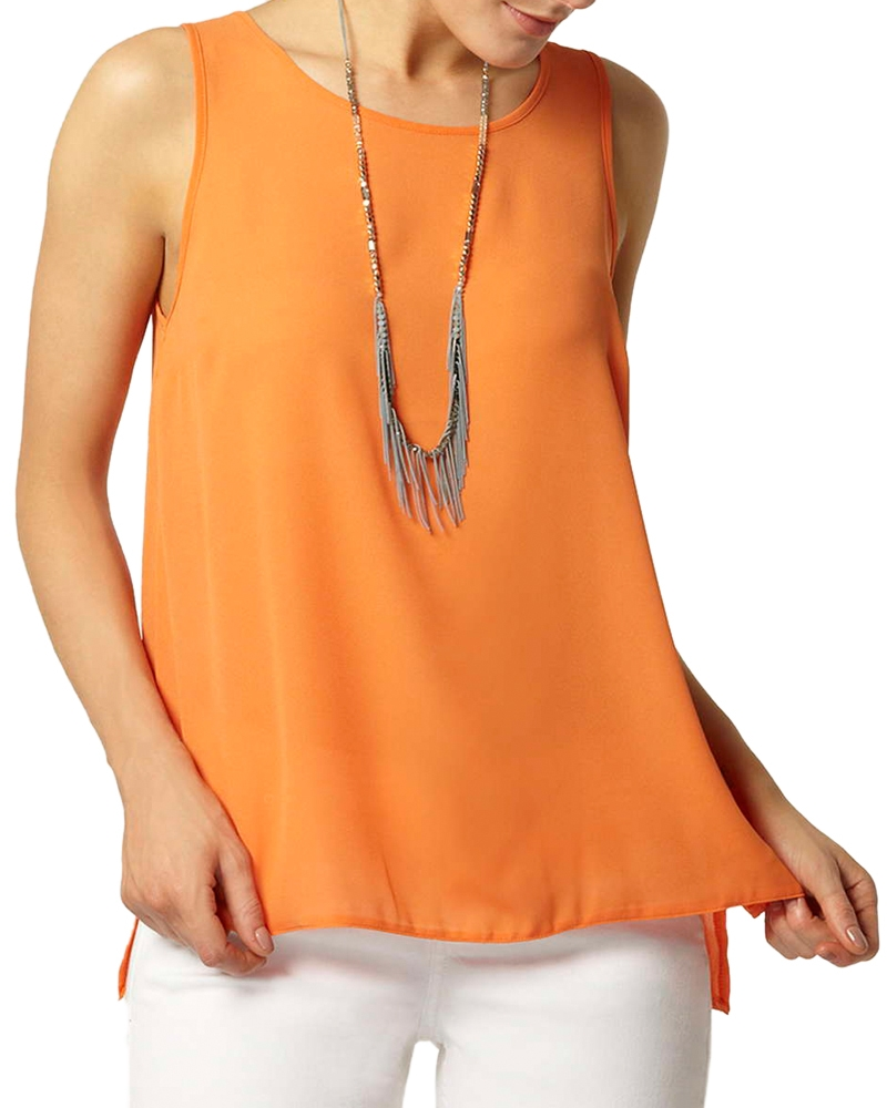 Love My Charm Top- Orange