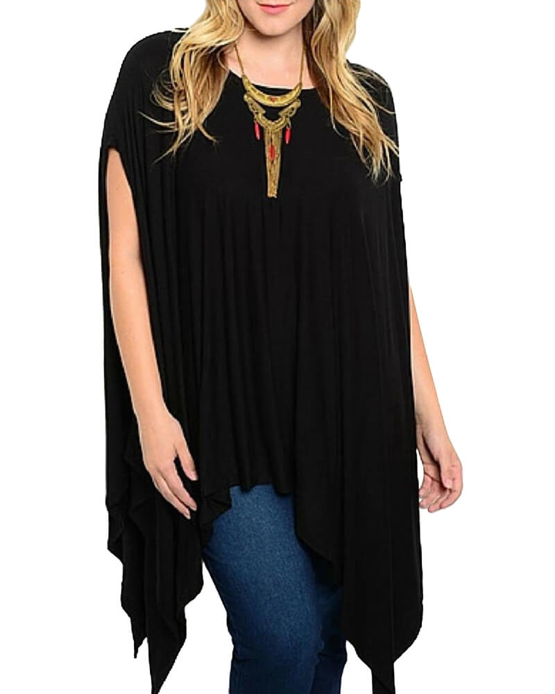 Poncho Cape Top
