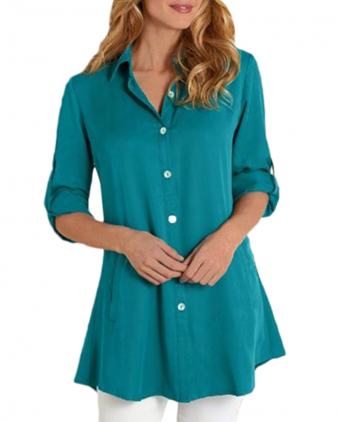 TERRY LONG BLOUSE