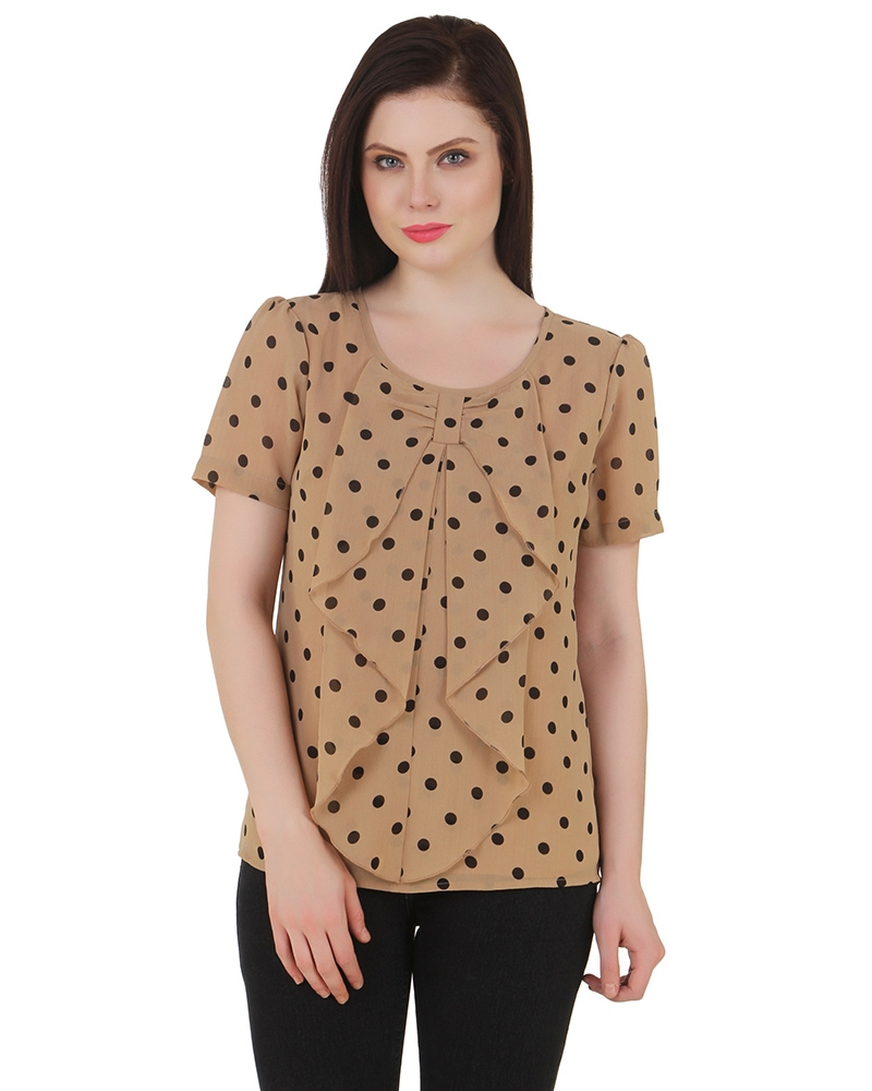 Little Black Dots Top