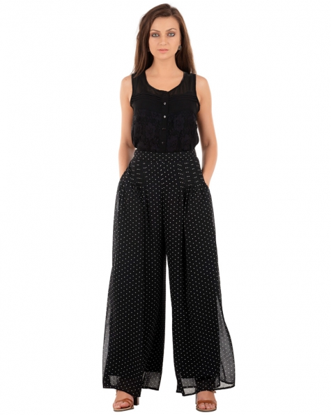 Fiona Pleated Detail Pants