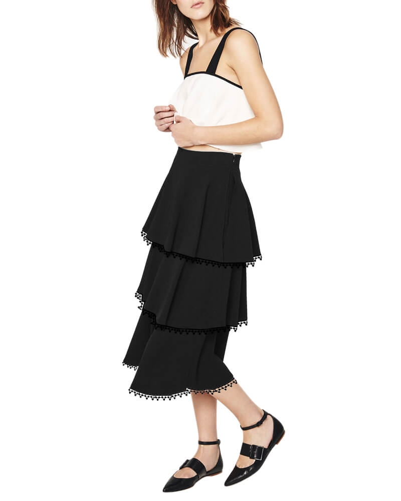 Frill detailed skirts
