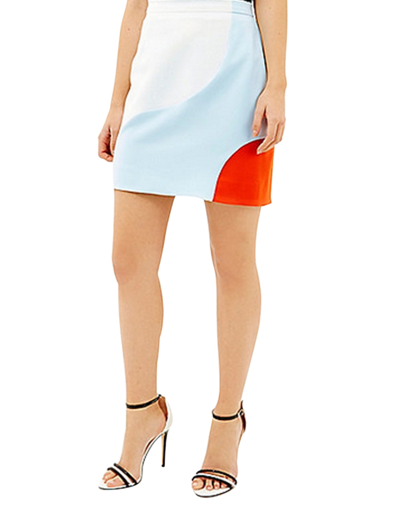 Lily Of The Valley Slim Skirt