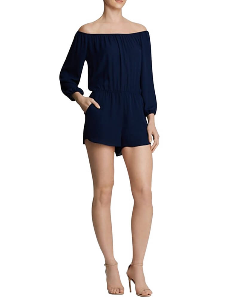 Oh Jeez!! Off Shoulder Romper