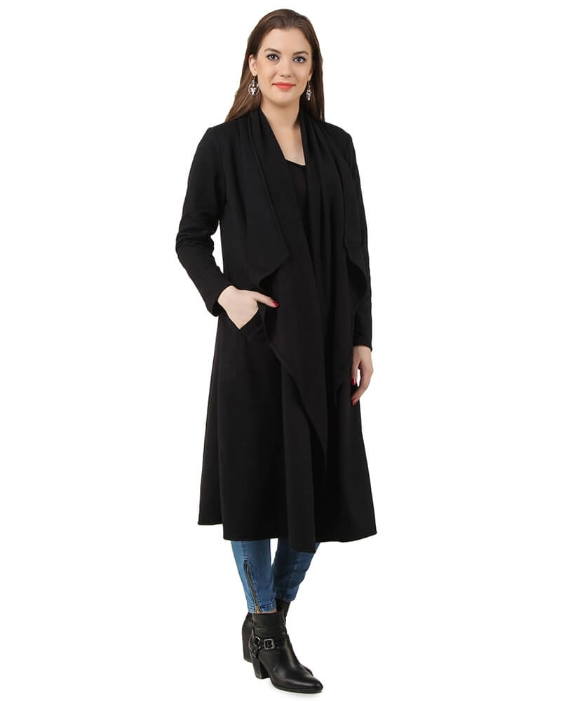 Zoe Waterfall Coat